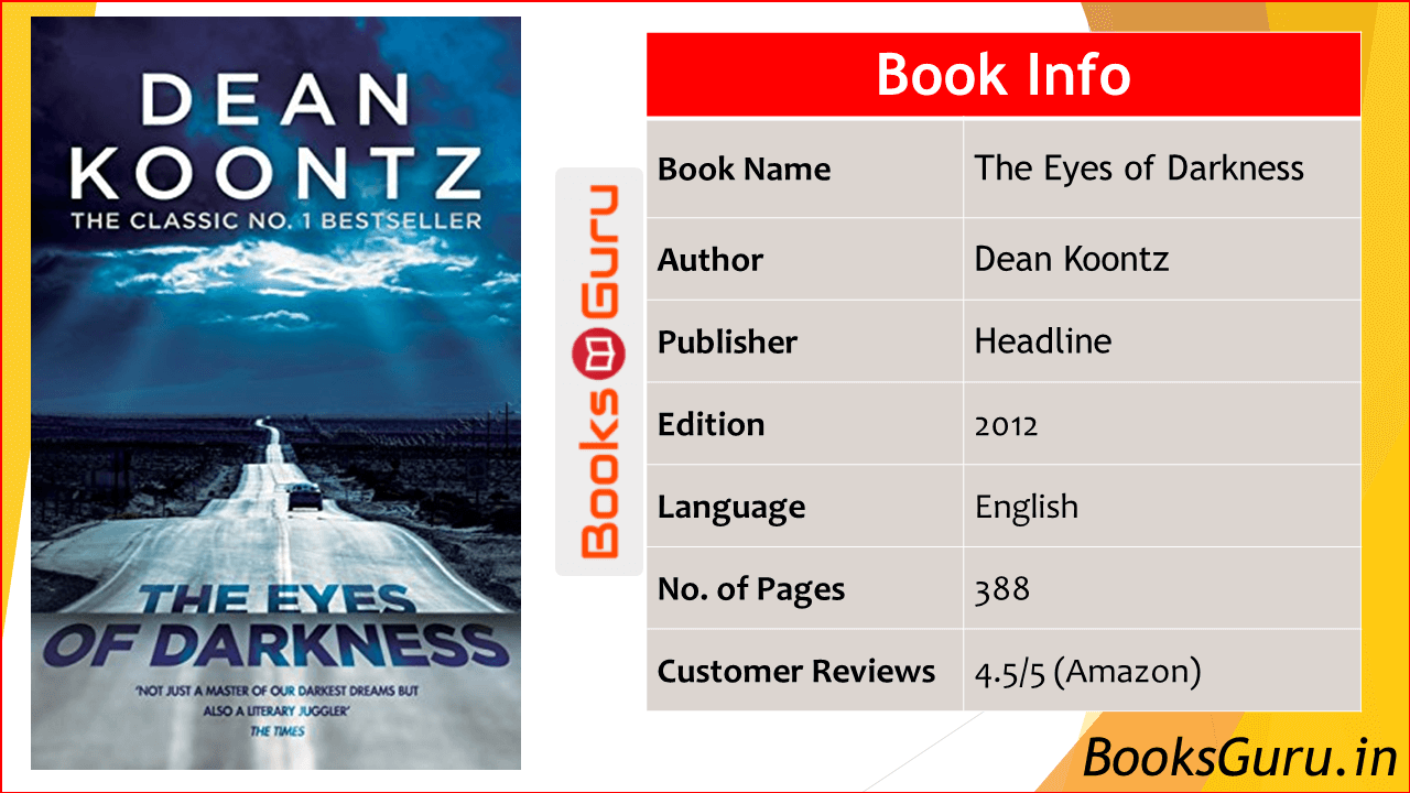 The Eyes of Darkness by Dean Koontz pdf Download